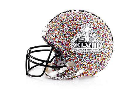 How To Make A Football Helmet Out Of Paper - designers create fashionable bowl xlviii football