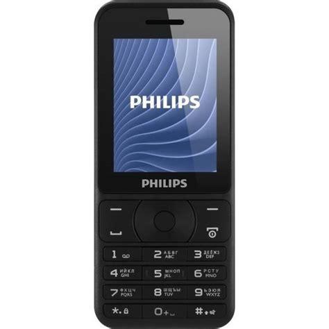Philips E160 2 4 Dual Gsm Black philips xenium e180 dual sim black â ðºñ ð ð ñ ñ philips xenium