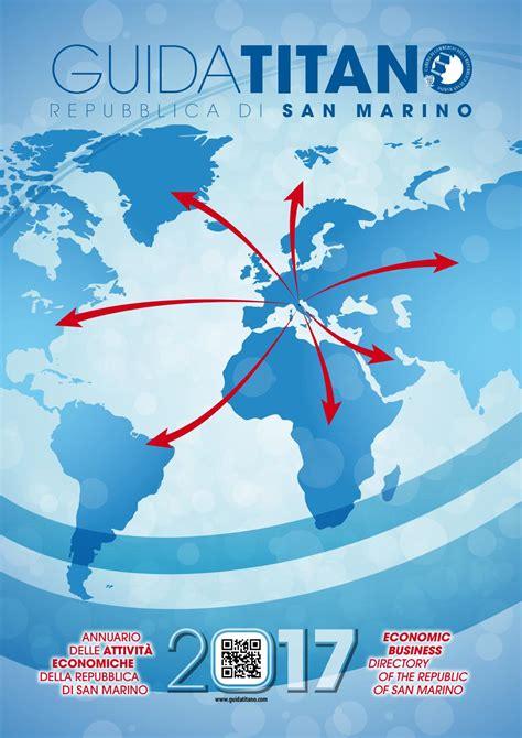di commercio san marino guida titano 2017 san marino by di commercio san