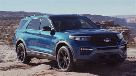 ford explorer st  horsepower crossover youtube