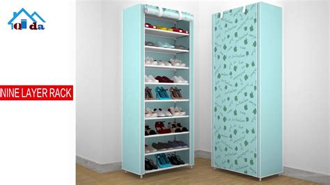 50 pair shoe cabinet fabric shoe storage cabinet waterproof 50 pair 100 pair