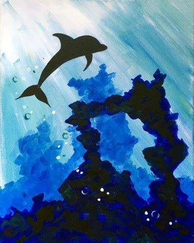 paint nite calgary may paint nite 174 ripley s aquarium of canada