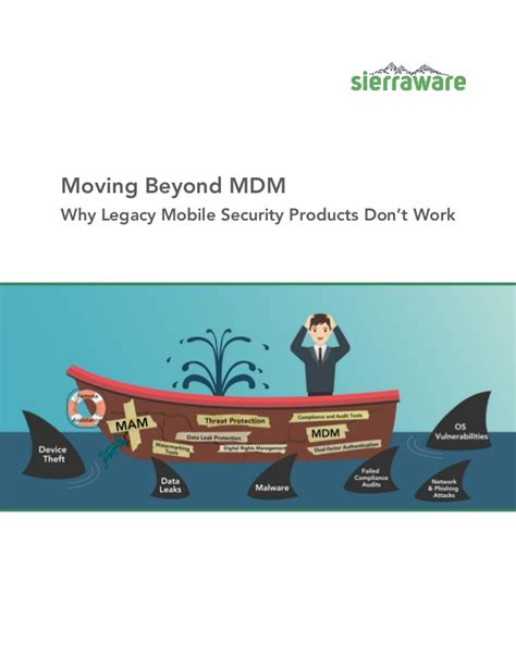 mobile security products moving beyond mdm why legacy mobile security products don