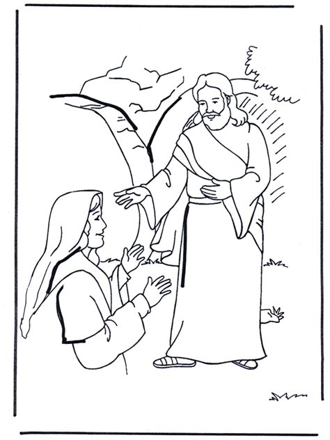 free coloring pages of jesus on the road to emmaus