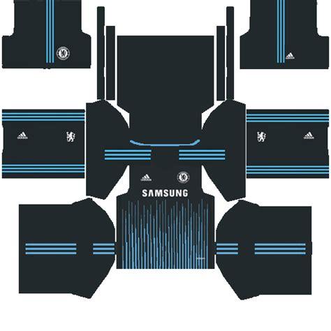 Chelsea Kit Dream League | chelsea third dream league kit by mattiaruffo on deviantart