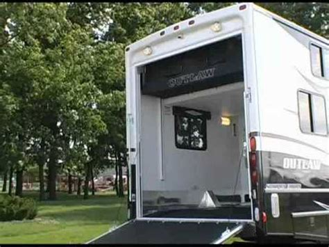 Motorhome With Garage by Review Of Damon Motor Coach S Outlaw Motorhome Exterior