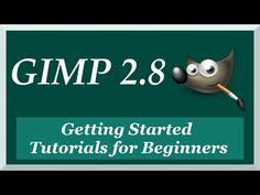 gimp basics introduction beginner tutorial exercise how to use gimp 2 8 2 for beginners graphic design stuff
