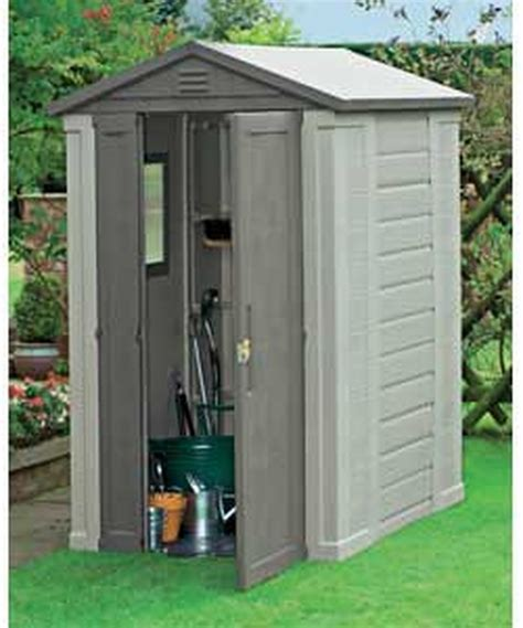 Plastic Outdoor Sheds by Of Plastic Garden Shed Garages Sheds In