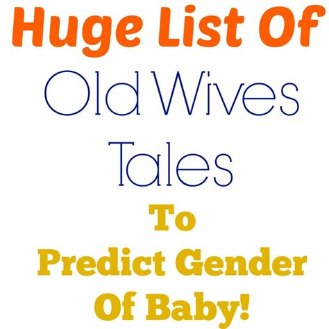old wives tales determining the gender of your baby how to predict your babys gender predictive solutions