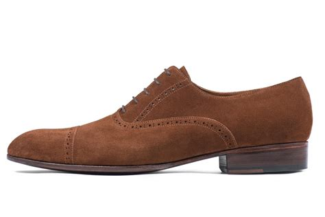 suede dress shoes for chocolate brown made in
