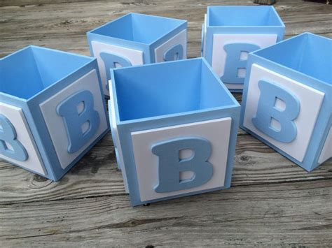 baby blocks centerpiece abc baby block centerpiece block baby boy by tbqboutique on etsy abc