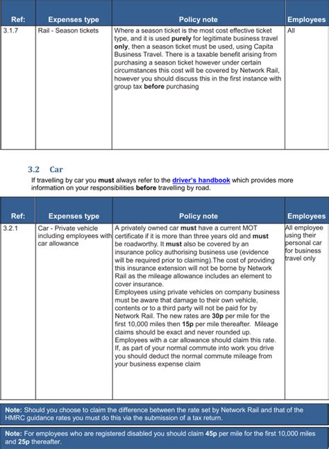 company travel policy template business travel policy template for free page 6
