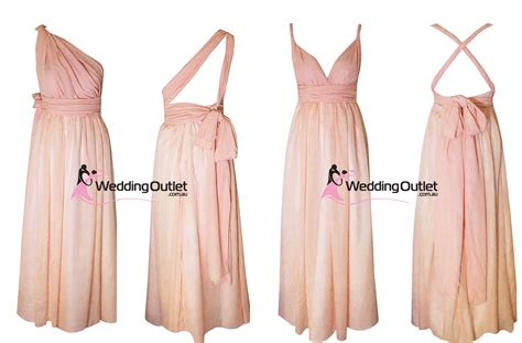 Eight Way Twist and Wrap Dresses Style #U101   Weddingfactoryoutlet.co.uk   Wedding Outlet