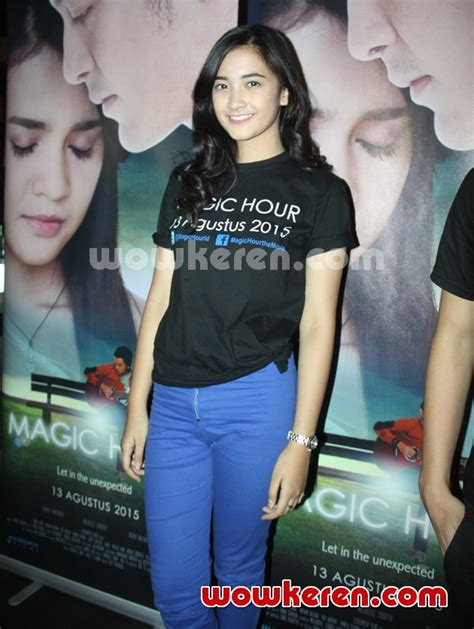 launching film magic hour foto nadya arina launching video klip soundtrack film