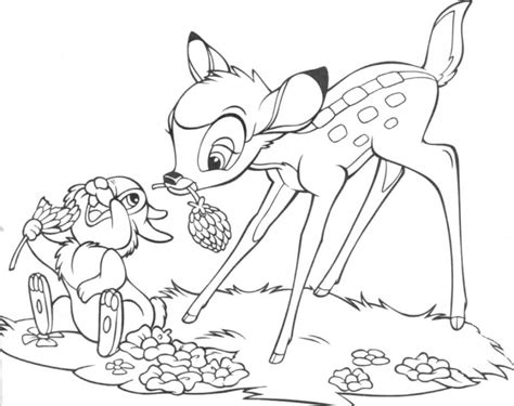 thumper coloring pages coloring home