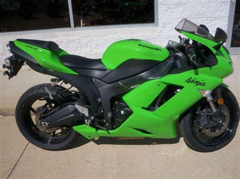 2007 Kawasaki Zx6r by Buy 2007 Kawasaki Zx 6r Sportbike On 2040 Motos