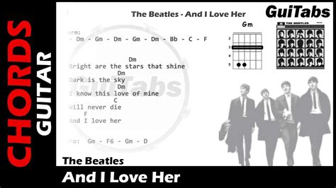 Chords To I And Love Her