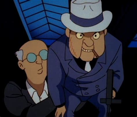 Tas Mr Go the ventriloquist and scarface batman the animated