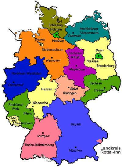 states germany map german bacon potato salad of the always