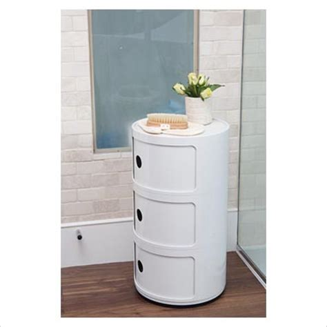 gap interiors modern bathroom storage unit picture
