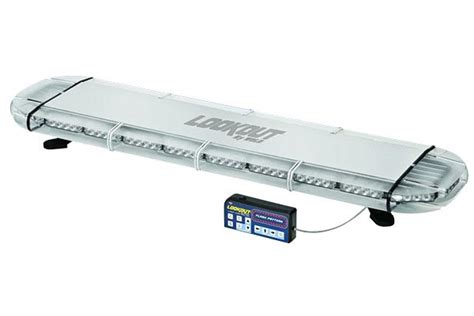 emergency light bar mounts wolo lookout low profile roof mount led emergency light