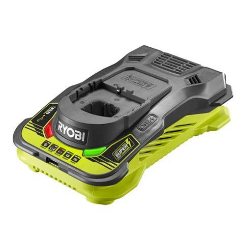 ryobi 18v battery charger manual 18v one fast battery charger rc18150u ryobi tools