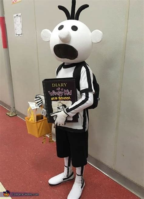 wimpy kid costume