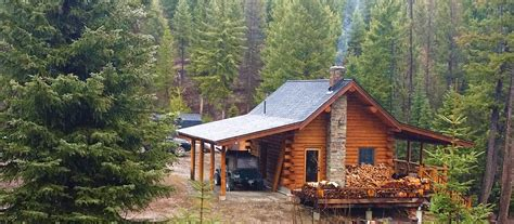 Montana Fishing Cabins For Sale by Lost Lake Montana Lost Lake Montana 320 Acres Lake