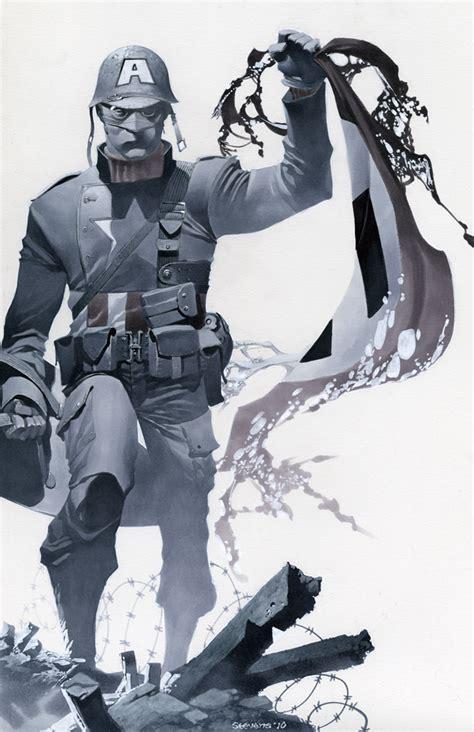 ultimate captain america wallpaper ultimate wwii cap by christopherstevens on deviantart