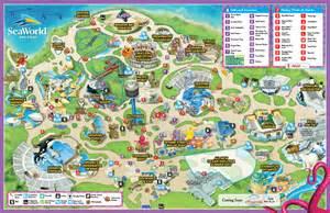 park map seaworld san diego