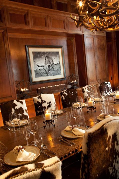 cowhide dining chairs grace  lovely dining areas home