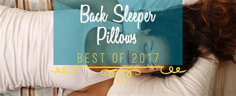 best pillows for back 7 best pillow for back sleepers comparison buyer s