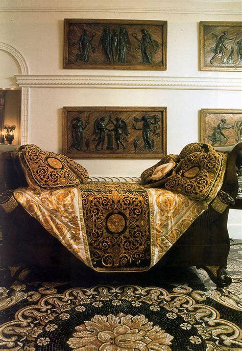 versace fabric upholstery versace at home i casa casuarina showstudio the home