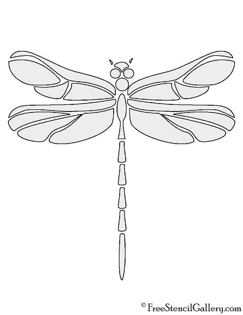 dragonfly template printable dragonfly stencil www imgkid the image