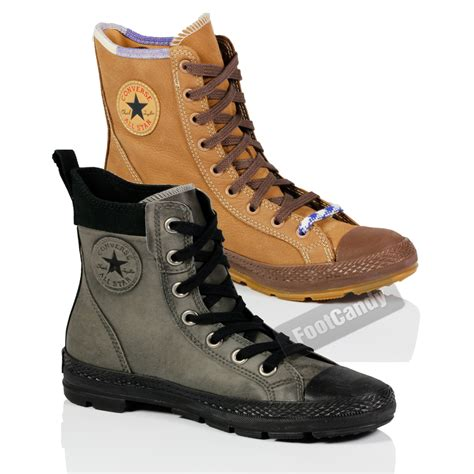 Chucks Boots Gift Card - converse all star chuck taylor winter outdoor hi ankle lace up boots shoes size ebay