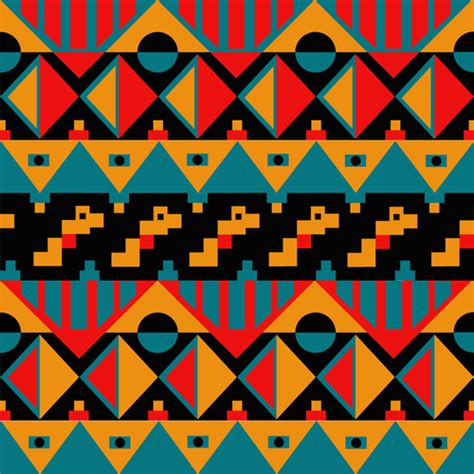 tribal pattern svg tribal pattern seamless borders vector 05 vector frames