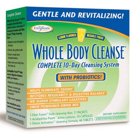 Cleanse Detox Your Whole by Welcomes Enzymatic Therapy Detox Cleanse And Bodies