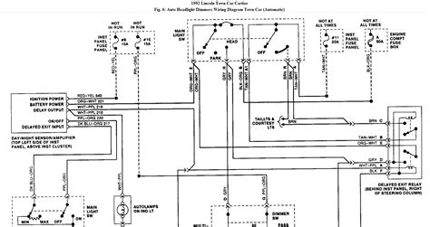 1992 lincoln town car wiring diagram turn signals 49