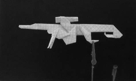 Origami Guns - origami guns sniper rifle by solidmark on deviantart