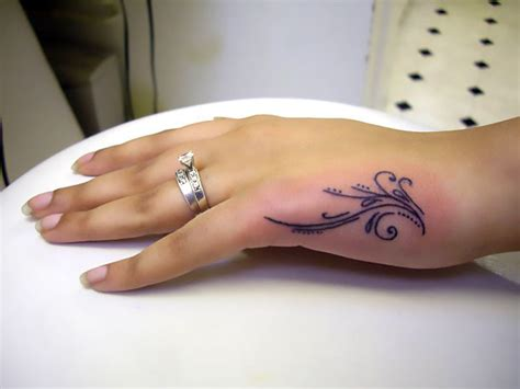side hand tattoos small side idea