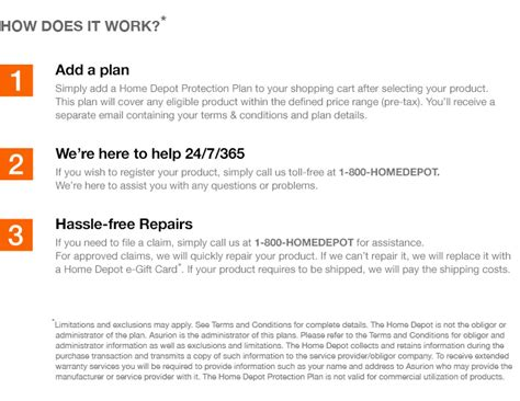 the home depot protection plan the home depot 3 year protection plan for generators
