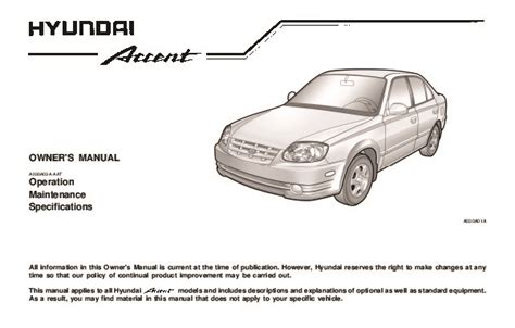 automotive repair manual 2004 hyundai accent regenerative braking 2004 hyundai accent owners manual
