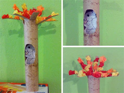 Paper Tree Craft - turn your trash into ideas to create from