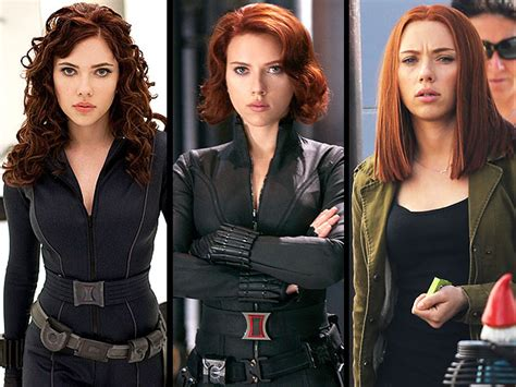 black widow hair color johansson hair black widow captain
