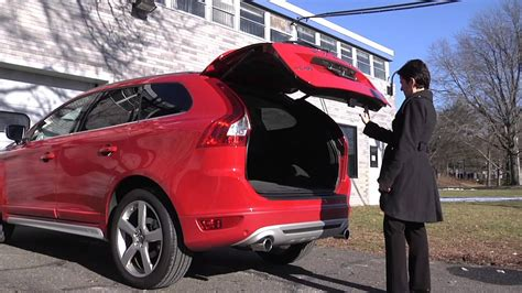 volvo power operated programmable tailgate option youtube