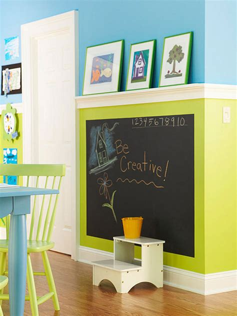 creative catalyst room decor the color block with chalkboard home decorating diy