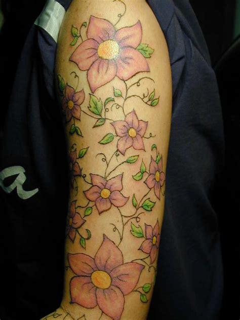 tattoo flower sleeve fashionlinks4us floral sleeve tattoos