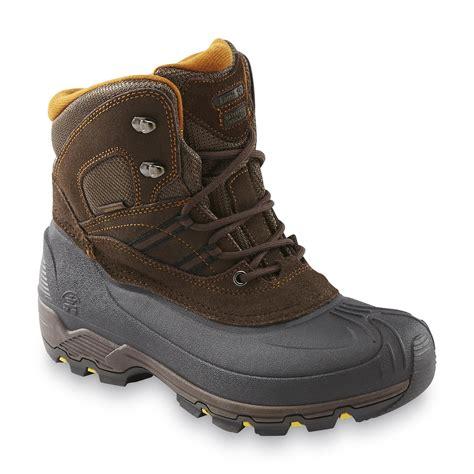 sears mens snow boots kamik s warrior 6 quot waterproof snow boot brown shop