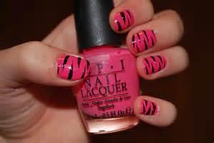 simple nail tutorial zebra stripes dollar store crafts