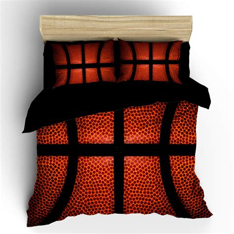 basketball bed set basketball bedding custom background basketball image can
